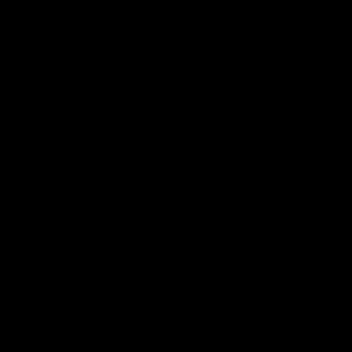 黑白树叶矢量图
