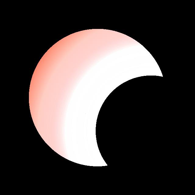 一轮弯月图片