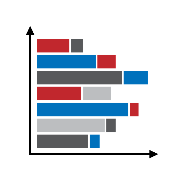 PPT数据分析图