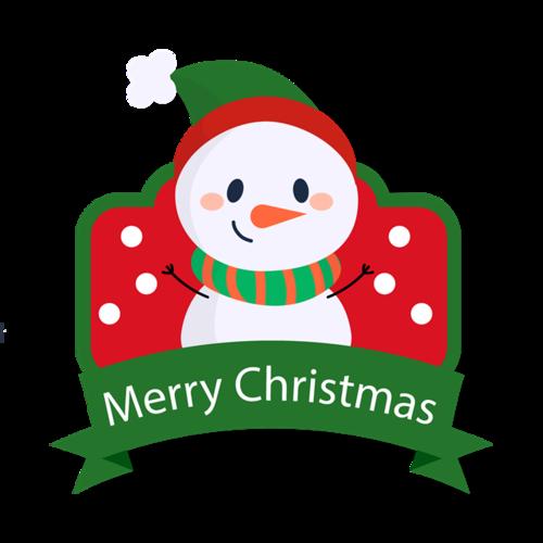 圣诞雪人图标
