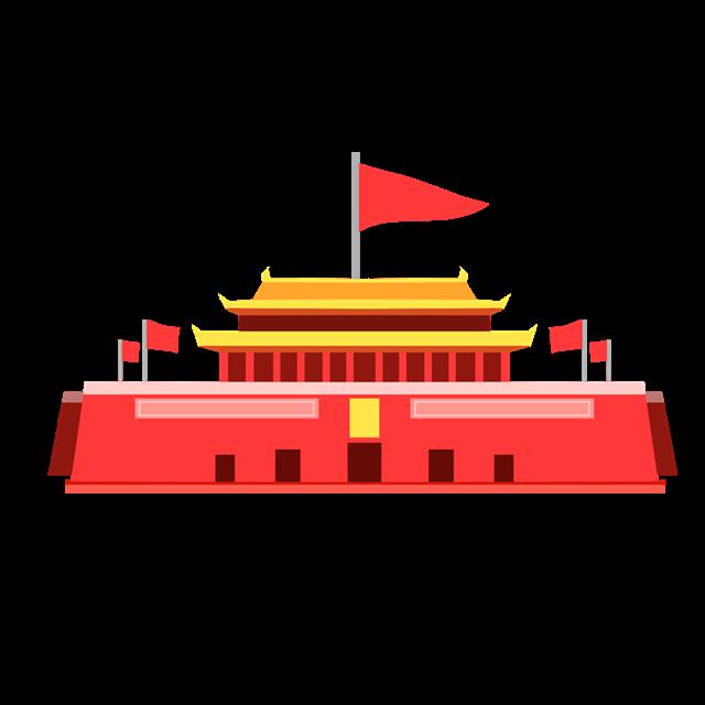 天安门国旗图片