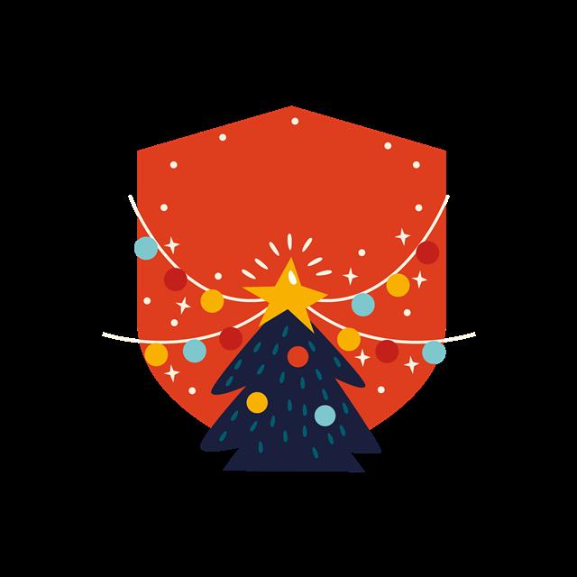 圣诞节装饰图案设计