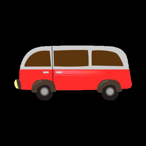 大巴士矢量图