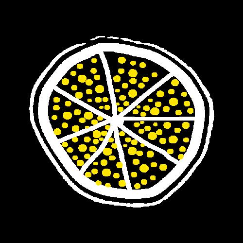 柠檬片简笔画图片