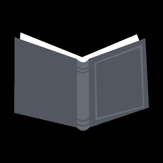 黑色书本矢量图