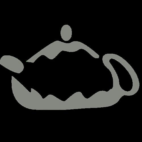 手绘茶具图案素材