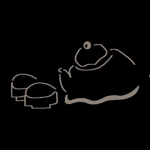 手绘茶具素材
