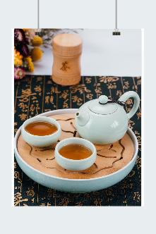 精美茶具图片