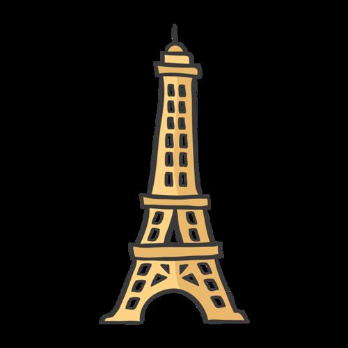 巴黎铁塔矢量图