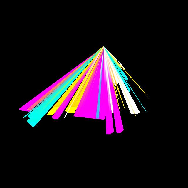 霓虹灯光效矢量图
