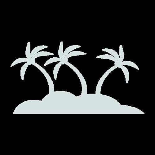 海滩简笔画