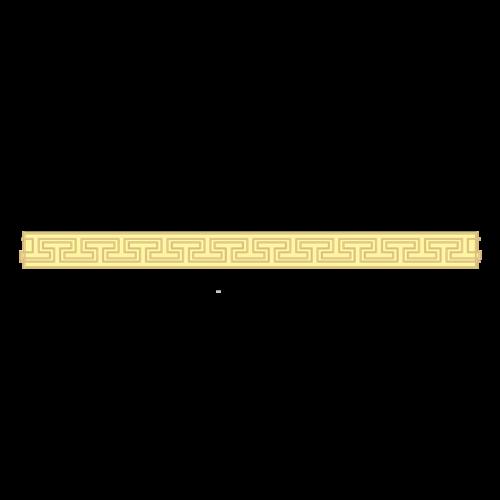 金色条纹边框素材