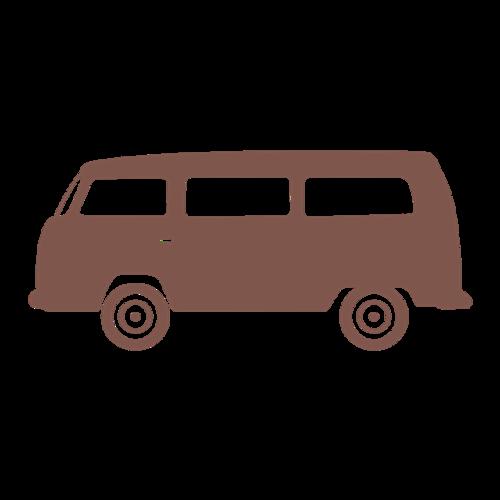 巴士汽车矢量图