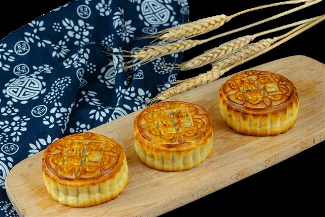 中秋节月饼真实图片
