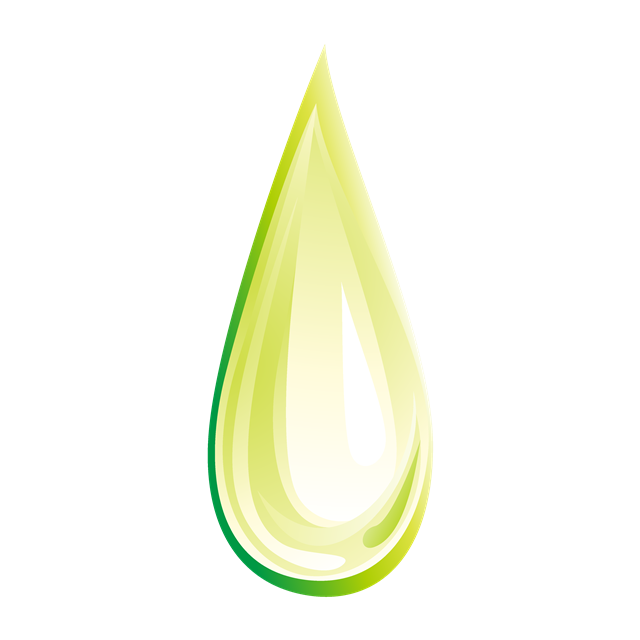 绿色水滴图片