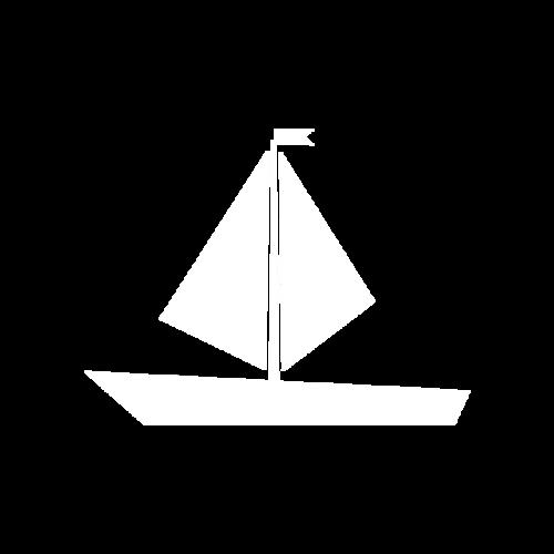 简约线条帆船图片