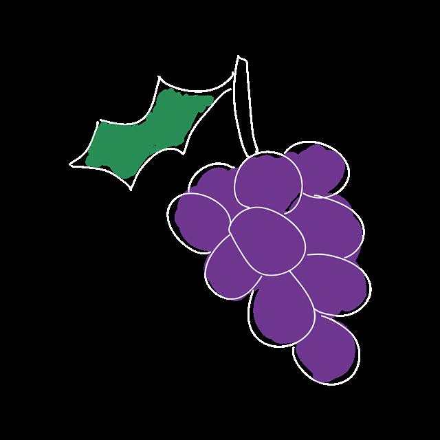 一串葡萄免抠图
