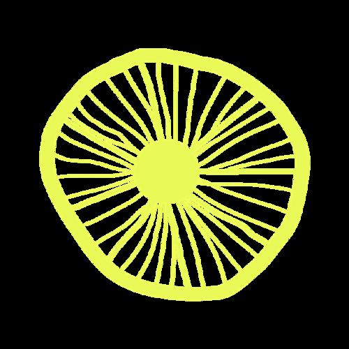 小清新柠檬图片
