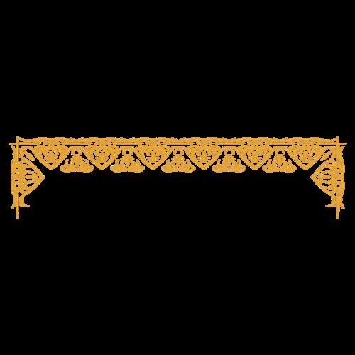 欧式花纹边框矢量图