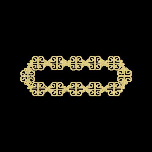 金色线条装饰图片