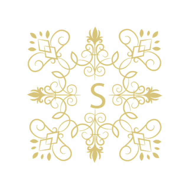 复古方形花纹边框