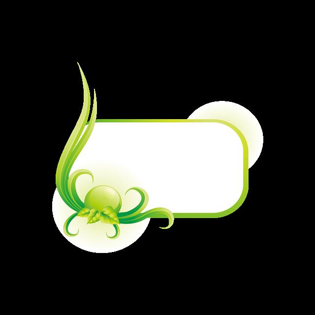绿色环保边框