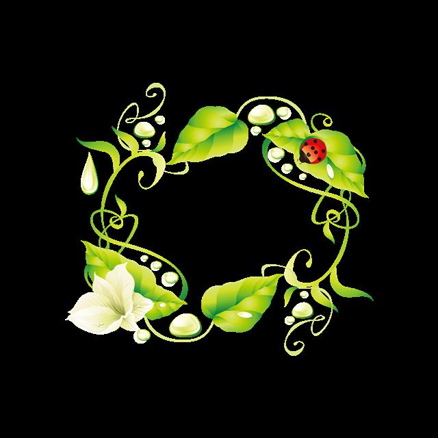 绿色环保花纹
