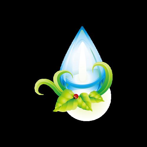 节约水资源标示logo设计