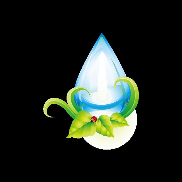 水滴环保图标