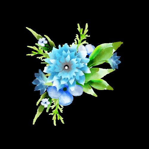 艺术花簇图片