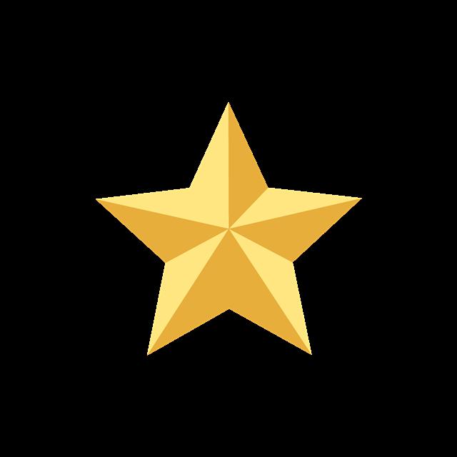 五角星立体图标设计