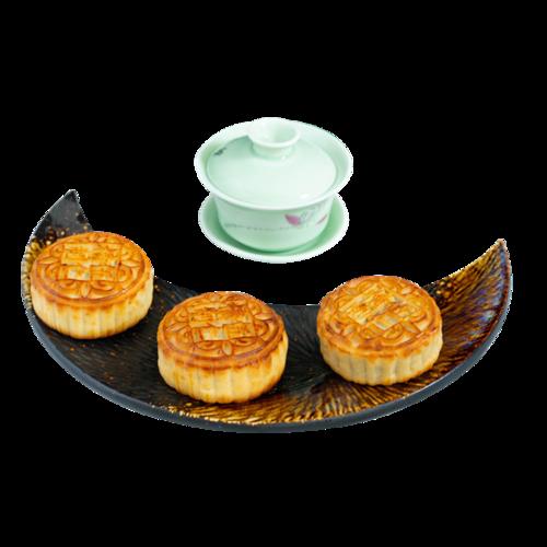 中秋美味月饼摄影图