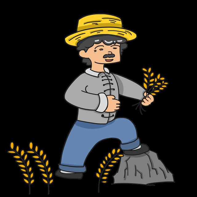 秋天农民丰收图片