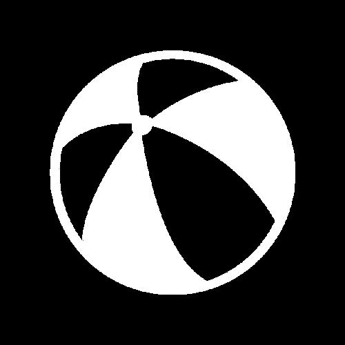 黑白手绘皮球图片