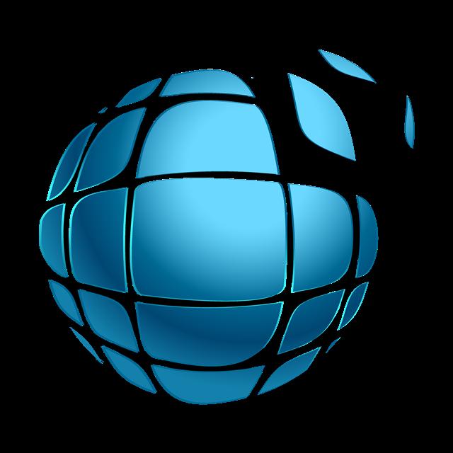 圆球标志logo