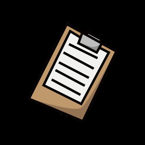 文件夹板矢量图