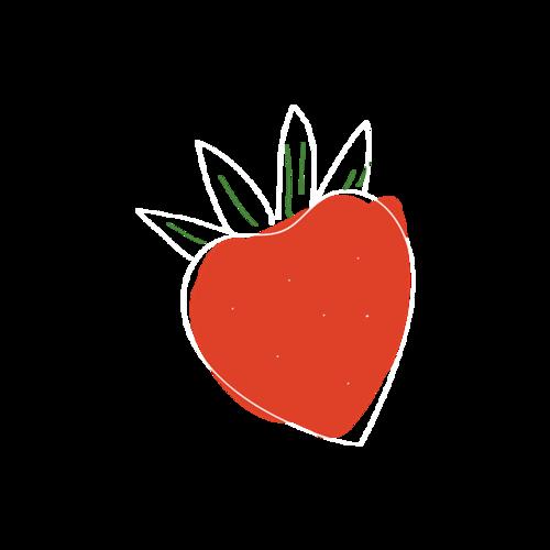 抽象草莓图片