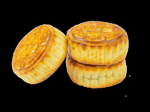 蛋黄莲蓉月饼图片
