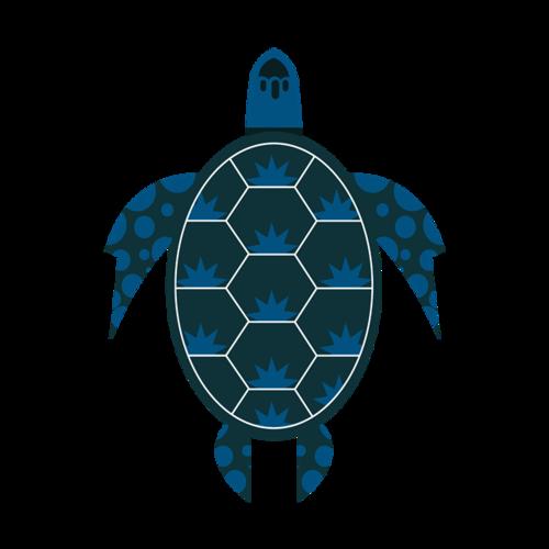 平面海龟矢量图