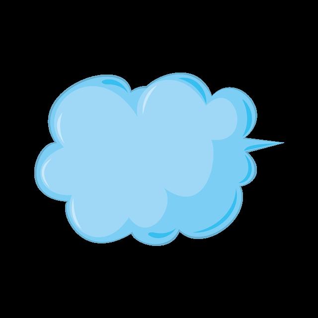 蓝色对话框