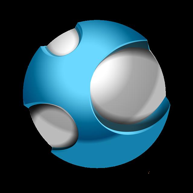 圆球标志图片
