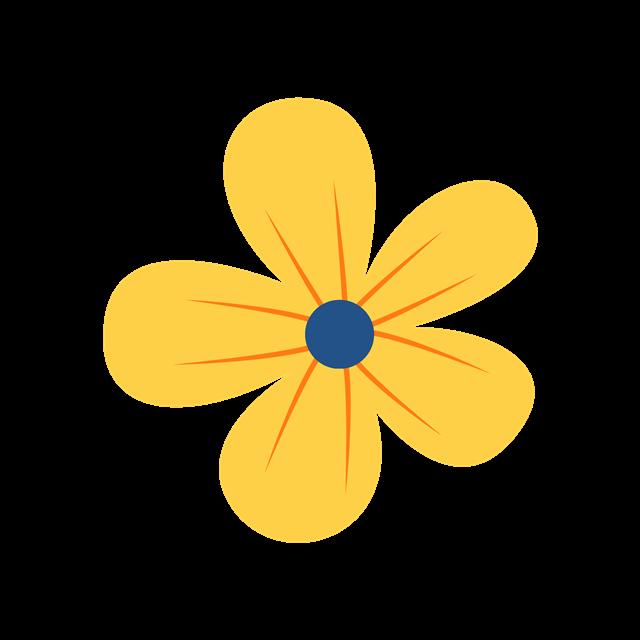 黄色花朵高清图片
