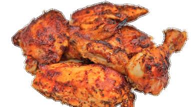 烤鸡高清图片