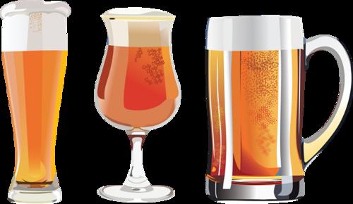 高脚杯啤酒图片