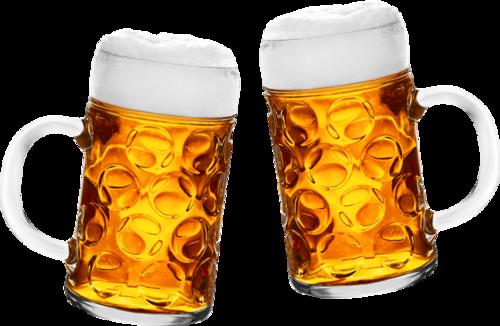 啤酒碰杯图片