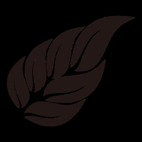 树叶装饰图案图片