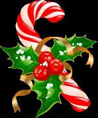 圣诞糖果矢量图