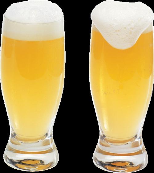 两杯啤酒图片