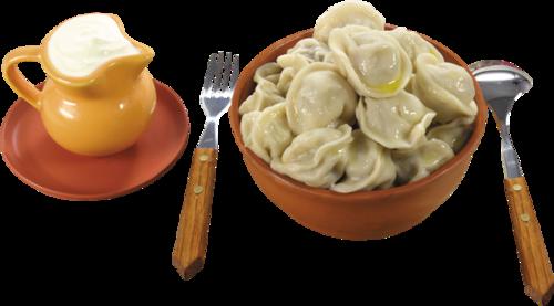 一大碗饺子图片