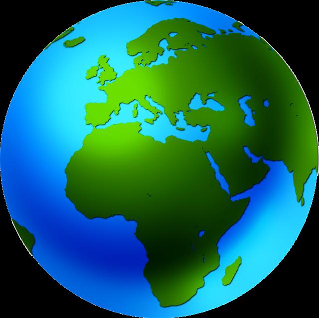 手绘地球仪图片